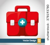 medical and hospital icon | Shutterstock .eps vector #378193780
