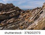 seafront of genoa nervi   genoa ... | Shutterstock . vector #378202573