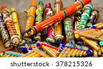 native american colorful andean ... | Shutterstock . vector #378215326