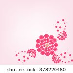 floral background | Shutterstock .eps vector #378220480