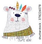cute bear   Shutterstock .eps vector #378226078
