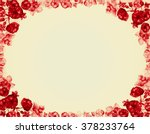 beautiful floral background.... | Shutterstock . vector #378233764