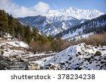 scene of valley in pahalgam in... | Shutterstock . vector #378234238
