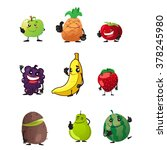 fruit icon | Shutterstock .eps vector #378245980