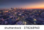 city of los angeles cityscape... | Shutterstock . vector #378268960