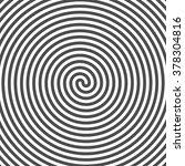hypnotic spiral background....   Shutterstock .eps vector #378304816