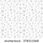 pattern of geometric shapes.... | Shutterstock .eps vector #378311068