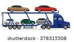 truck semi trailer for... | Shutterstock .eps vector #378315508