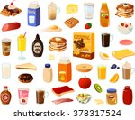 vector ilustration of various... | Shutterstock .eps vector #378317524