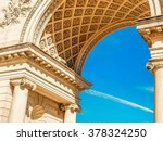 palace of the legion of honor | Shutterstock . vector #378324250