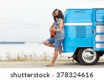 nature  summer  youth culture ... | Shutterstock . vector #378324616