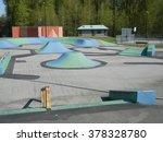 Empty Skateboard Park