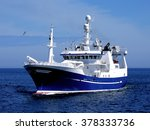fishing boat  fishing vessel... | Shutterstock . vector #378333736