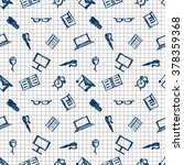 seamless raster pattern ... | Shutterstock . vector #378359368