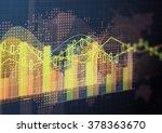 abstract geometric technology... | Shutterstock . vector #378363670