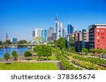 view of the skyline of... | Shutterstock . vector #378365674