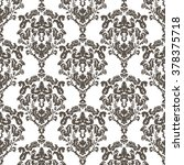 vector damask classic royal... | Shutterstock .eps vector #378375718