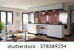 modern interior | Shutterstock . vector #378389254