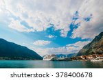 liner in the bay of kotor | Shutterstock . vector #378400678