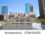 Stock photo toronto downtown 378415450