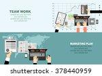 flat design illustration... | Shutterstock .eps vector #378440959