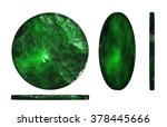 3d render of jade materials... | Shutterstock . vector #378445666