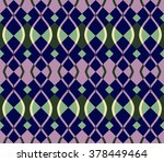 colorful vector geometric... | Shutterstock .eps vector #378449464