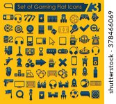 set of game icons | Shutterstock .eps vector #378466069