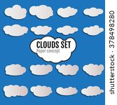 clouds icon vector. clouds icon ...