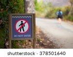 Trespassing Person Walking...
