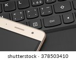 keyboard computer  notebook ... | Shutterstock . vector #378503410