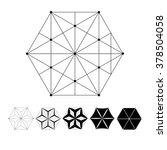 sacred geometry. the... | Shutterstock .eps vector #378504058