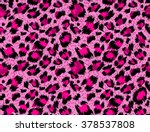 Seamless Luxury  Pink Leopard...