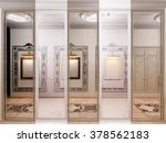 3d render of the hall in... | Shutterstock . vector #378562183