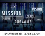 mission motivation objective... | Shutterstock . vector #378563704