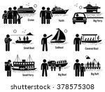 water sea transportation... | Shutterstock .eps vector #378575308