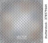 metal plate texture  iron sheet ... | Shutterstock .eps vector #378579664