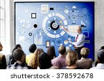 information technology digital... | Shutterstock . vector #378592678