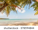 Stock photo sandy beach 378594844
