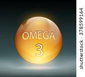icon capsule omega 3. stock...   Shutterstock .eps vector #378599164