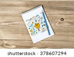 sketching good ideas | Shutterstock . vector #378607294