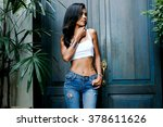outdoor lifestyle fashion... | Shutterstock . vector #378611626