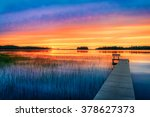 Northern Wisconsin Cabin Sunset