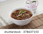 rajma in a bowl  | Shutterstock . vector #378637153