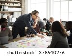 business people meeting design... | Shutterstock . vector #378640276