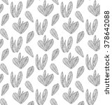 pattern graphic plant herb... | Shutterstock .eps vector #378642088