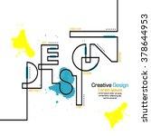 creative concept modern design | Shutterstock .eps vector #378644953