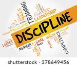 discipline word cloud  business ... | Shutterstock . vector #378649456