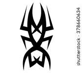 tattoo designs. tattoo tribal... | Shutterstock .eps vector #378660634