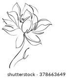 religion  symbol  lotus  ... | Shutterstock .eps vector #378663649